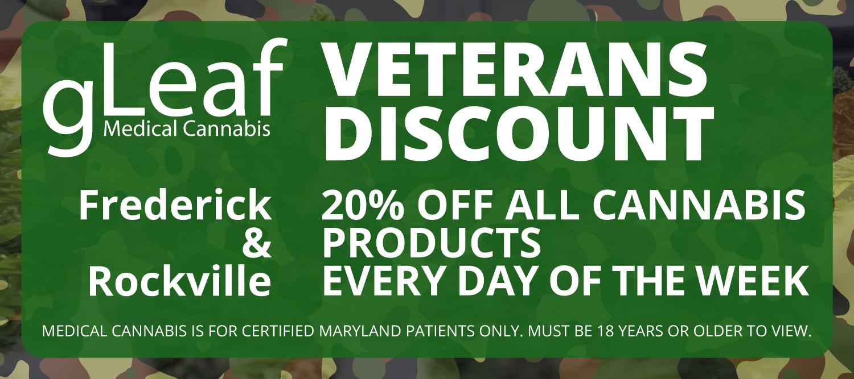 gleaf veterans discount